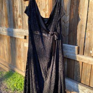 Lane Bryant Lace Black dress